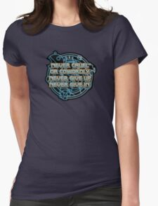 The Doctor's Promise Womens Fitted T-Shirt