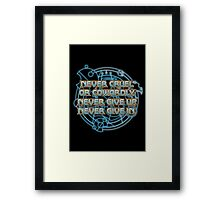 The Doctor's Promise Framed Print