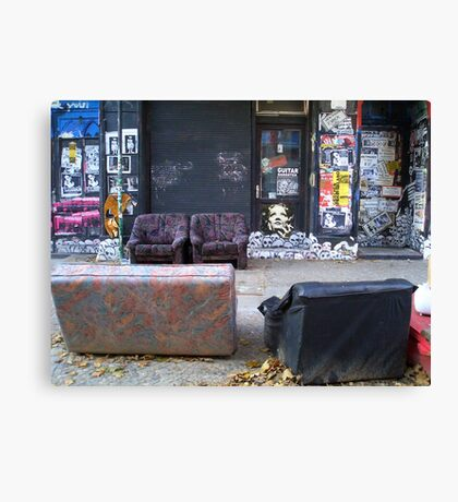 Berlin scene Canvas Print
