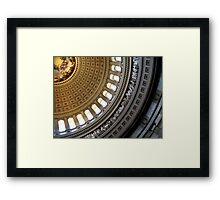 The Rotunda Framed Print