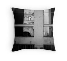 Reflected in Melbourne Throw Pillow