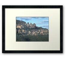 Three Sisters - Blue Mountains, Australia Framed Print