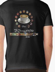 The Journey of Coffee [Light] Mens V-Neck T-Shirt