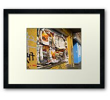 Cool advertising Framed Print