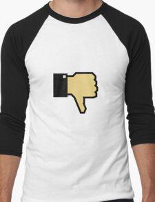 I don't like this! (Thumb Down) Men's Baseball ¾ T-Shirt