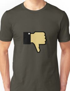 I don't like this! (Thumb Down) Unisex T-Shirt