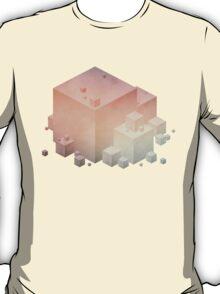Pastel Vintage Cubes T-Shirt