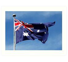 HAPPY AUSTRALIA DAY! Art Print