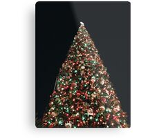 Christmas tree at Disneyland  Metal Print
