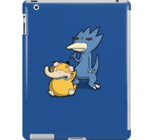 Number 54 and 55 iPad Case/Skin