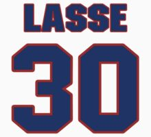 National football player Dick Lasse jersey 30 by imsport