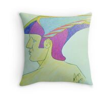 Hermes Throw Pillow