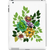 Flower Hand drawn Print iPad Case/Skin