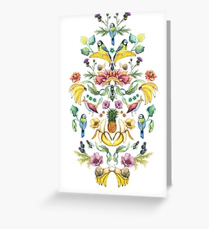 Jugend Goes Bananas! Greeting Card
