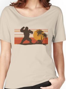 King of the Monsters - Giant Gorilla Women's Relaxed Fit T-Shirt