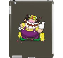 Greedy loveable fatso! iPad Case/Skin