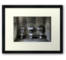 See no evil, speak no evil, hear no evil. Framed Print