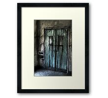Bleeding Door Framed Print