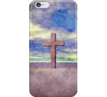 Christian Cross Landscape iPhone Case/Skin