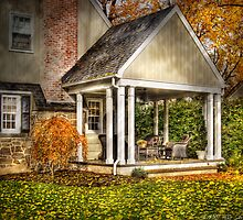 A side porch by Mike  Savad