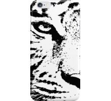 10 Big White Snow Tiger By Chris McCabe - DRAGAN GRAFIX iPhone Case/Skin