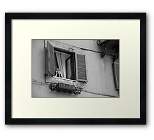Italian Woman Framed Print
