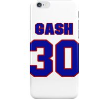 National football player Thane Gash jersey 30 iPhone Case/Skin