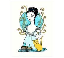 Aphrodite Tee Art Print