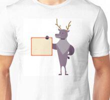 Cute cartoon reindeer Unisex T-Shirt