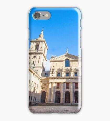 Basílica. El Escorial iPhone Case/Skin