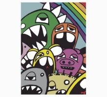 Monster Rainbow by edzemo