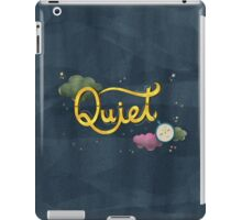 The sound of silence iPad Case/Skin