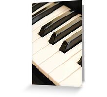 The music of life. Greeting Card