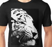 9 Angry Tiger By Chris McCabe - DRAGAN GRAFIX Unisex T-Shirt