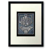 Cyberman Logo Framed Print
