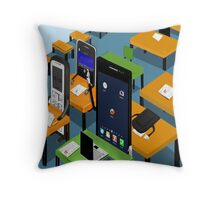 Smart Phone Throw Pillow