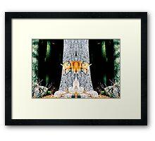 Double Vision Framed Print