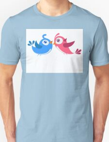 Two cartoon birds in love T-Shirt