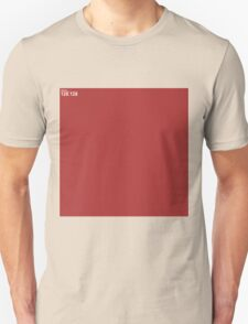 Red Wall Texture 1x1 Unisex T-Shirt