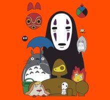 Ghibli mix Kids Clothes