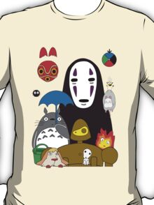 Ghibli mix T-Shirt