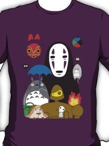 Ghibli mix T-Shirt
