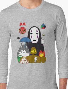 Ghibli mix Long Sleeve T-Shirt