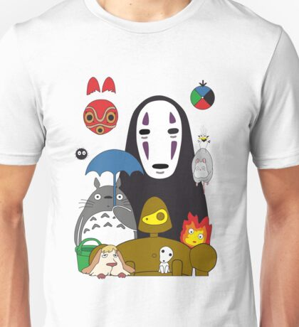 Ghibli mix Unisex T-Shirt