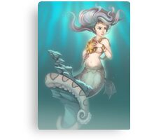 Sea Serpent Queen Canvas Print