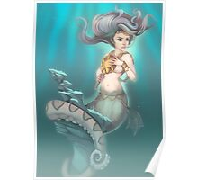 Sea Serpent Queen Poster