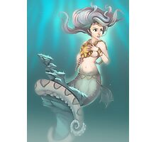 Sea Serpent Queen Photographic Print