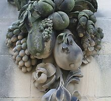 Stone carving at Chatsworth by brendapic