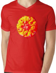 Higher psychedelic solar peyote t-shirt Mens V-Neck T-Shirt