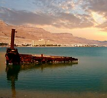 Dead sea power	 by Efi Keren